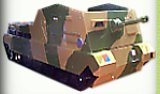 tank bed - army military theme bedroom decor