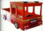 fireman bedroom decorating - fire truck  theme decorating ideas
