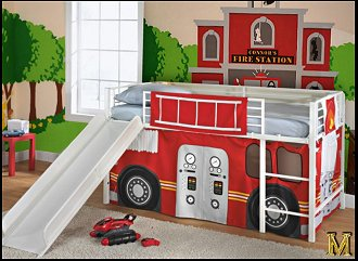 fire truck bed tent-fire truck bed tent-1