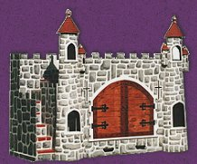 knights castle - gothic style rooms - wizards dragons knights decorating ideas