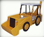 construction trucks theme beds - Bob the Builder theme bed - construction theme bedroom decorating. For the little bob the builder fan.... His very own digger bed. Just what he wants and not only is it a bed but a fully functional piece of imaginery play equipment
